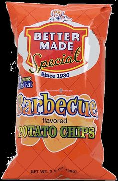 bbq chips by #BetterMade :: available at #MillsPharmacy in Birmingham, #Michigan