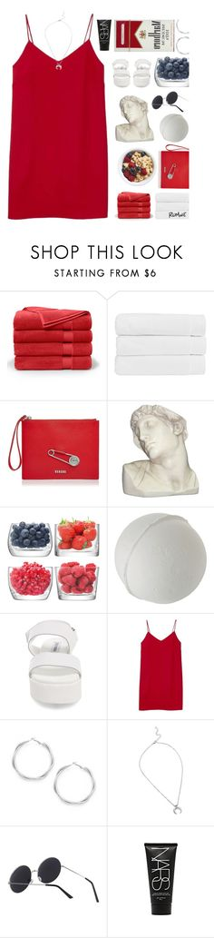 """2/10"" by moonlightbaeex ❤ liked on Polyvore featuring Brooks Brothers, Christy, Versus, House Parts, LSA International, Steve Madden, Alexia Ulibarri and NARS Cosmetics"