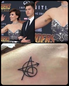 marvel tattoos okay but i thought she just forgot to shave one spot of her armpits, fuck Ms Marvel, Marvel Funny, Marvel Memes, Marvel Avengers, Captain Marvel, Avengers Tattoo, Marvel Tattoos, Spiderman Tattoo, Paar Tattoo