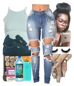"""""""For However Long"""" by bruhitsashia ❤ liked on Polyvore featuring Puma"""
