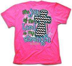 Joy of the Lord Christian T-shirt