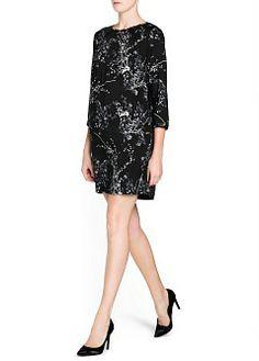 MANGO - CLOTHING - Dresses - Oriental print flowy dress