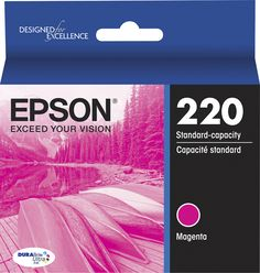 Epson - 220 Ink Cartridge - Magenta (Pink)