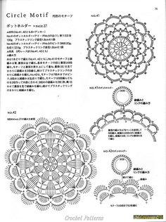 Gallery.ru / Фото #52 - Вязание крючком японские журналы 2 - Marianna1504