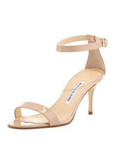 ddd522f3b90c Chaos Patent Ankle-Strap Sandal