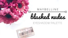 Blushing In Nude | Maybelline Don't let the title frighten you; this is a beauty blog! What I'm talking about is the Maybelline Blushed Nudes eyeshadow palette. I hauled this palette a couple months ago which appeared on my Drugstore Haul postand I even included a bit of a review on it. It seems that my previous Maybelline post however was quite popular and that a lot of you seem to enjoy the brand so I thought I would dedicate a post to reviewing this palette in detail especially after…