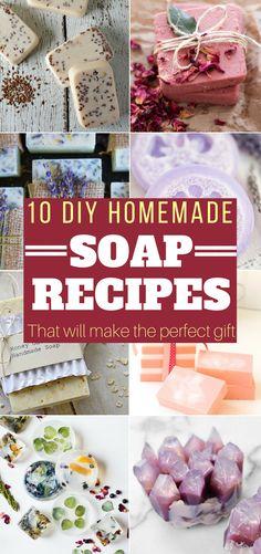 An amazing collection of easy DIY Homemade Soap Recipes. If you love making homemade soap, you will love these homemade soap recipes! #soap #homemadesoap #diysoap #handmadesoap #naturalsoap #diy