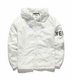 48e147a1d yeezy X adidas windreaker coat