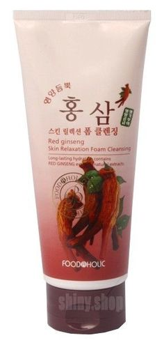 Red Ginseng Skin Relaxation Foam Cleansing 180ml From Koreans Herbal Pore Care #RedGinsengSkinRelaxationFoamCleansing
