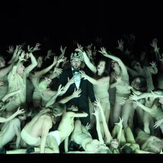 collective, natural v man, unnatural Set Design Theatre, Stage Design, Dark Fantasy Art, Royal Ballet, Macbeth Characters, Alvin Ailey, Greek Chorus, William Shakespeare, Body Painting