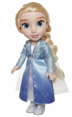 Disney Frozen 2 Elsa Travel Doll – Features Shimmery Ice Crystal Winged Cape Boots and Hairstyle – Ages 14 in Elsa, Disney Frozen Toys, Dolls Prams, John Lewis Shops, Playing With Hair, Girl Bedroom Designs, Toddler Dolls, Dolls For Sale, Teenage Mutant Ninja Turtles
