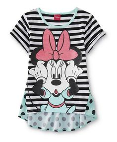 Disney Minnie Mouse Girl's Mixed Media T-Shirt - Striped/Dots $9.99 at kmart.com #LavaHot http://www.lavahotdeals.com/us/cheap/disney-minnie-mouse-girls-mixed-media-shirt-striped/96347