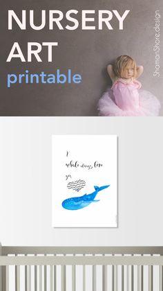Whales Print Art Whale Prints Nursery Set Sea Animals Baby Shower Gift Paintings Digital Pinterest Animal