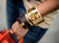 Dream bracelets by Celine, Cartier + Hermes
