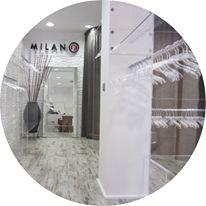 Milano 14. Un espacio en blanco