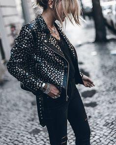 Jacket Studded love @revolve #studs #revolveme #lookfwrd http://liketk.it/2pW6o @liketoknow.it #liketkit