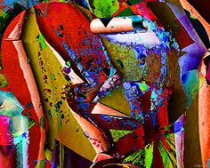 'The Torn Heart'    Artwork By Catherine Harms    http://catherine-harms.artistwebsites.com/    https://www.facebook.com/AbstractDigitalArtwork