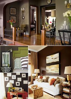paint color ideas with white accents for family room?