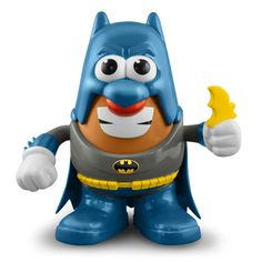 Take a look at this Classic Batman Mr. Potato Head Set on zulily today! Don't recal ever having a potato rad as a kid but this is a gotta have for me now.so funny n cool at the same time. Mr Potato Head, Potato Heads, Potato Man, I Am Batman, Superman, Batman Stuff, Dc Comics, Tattoo Arm Frau, Nananana Batman