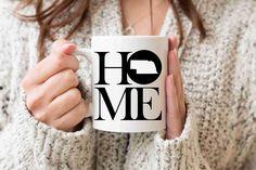 Nebraska Mug State Mug Coffee Mug Home Mug Homesick Gift Personalized Mug Custom Mug Nebraska Gift Welcome Home Gift New Home Gift