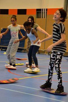 "MoveQ at the Steve Jobs iPad School ""De Ontplooiing"" in Amsterdam."