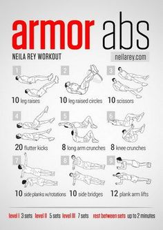 Armor Abs Workout, looks killing on the lower abs and entire core! Armor Abs Workout, looks killing on the lower abs and entire core! Neila Rey Workout, Ab Workout Men, Abs Workout Routines, Ab Workout At Home, At Home Workouts, Workout Plans, Workout Fitness, Belly Fat Workout For Men, Bodyweight Fitness