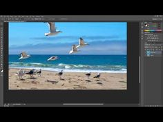 Removing Objects from Images with Photoshop CS6 - YouTube
