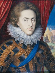 Henry Stuart, eldest son of King James I/VI of England and Scotland: Henry, Prince of Wales by Isaac Oliver, c.1610-12