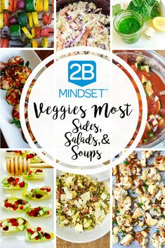 2B Mindset Veggies Most Sides | Confessions of a Fit Foodie