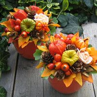 cz - Decoration World Thanksgiving Diy, Thanksgiving Decorations, Christmas Decorations, Fall Crafts, Christmas Crafts, Diy And Crafts, Cool Pictures For Wallpaper, Halloween Flowers, Deco Table
