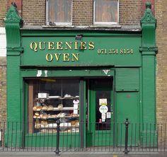 Queenies Oven, Balls Pond Road N1 Celebrating 5 years of London Shop Fronts#bestoflondonshopfronts