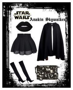 """""""Star Wars: The Force Awakens"""" by shhmeagol ❤ liked on Polyvore featuring Zara, Pierre Cardin, Eddie Borgo and Lime Crime"""