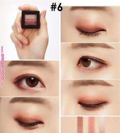 Trendy Makeup Goals Tutorials Make Up Ideas Asian Makeup Tutorials, Korean Makeup Tips, Korean Makeup Look, Asian Eye Makeup, Makeup Tricks, Makeup Ideas, Korean Makeup Tutorial Natural, Beauty Make-up, Asian Beauty