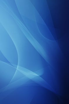 Abstract Blue Curves