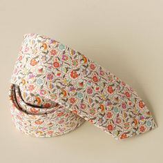 Liberty print tie mens floral tie floral necktie by CatkinJane