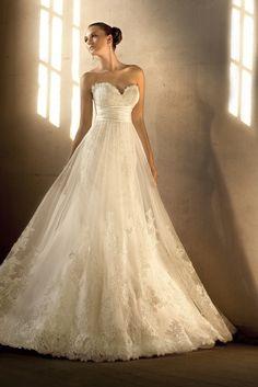 Lace dress wedding