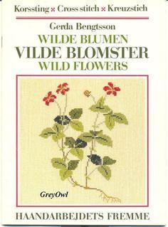 Буклеты: Gerda Bengtsson - Wild Flowers - Рукодельница - ТВОРЧЕСТВО РУК - Каталог статей - ЛИНИИ ЖИЗНИ