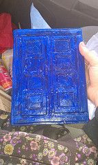 River Song TARDIS kindle cover