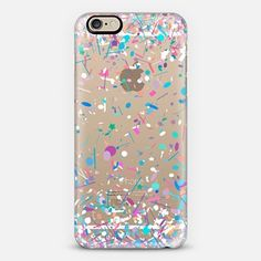 Girly Confetti Explosion Transparent