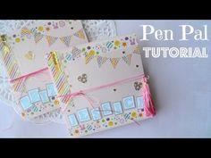 Pen Pal Letter Tutorial - Squash Book - YouTube