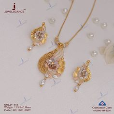 Plain Gold Necklace Set gms) - Fancy Jewellery for Women by Jewelegance Gold Chain Design, Gold Ring Designs, Gold Bangles Design, Gold Earrings Designs, Gold Jewellery Design, Necklace Designs, Gold Jewelry Simple, Unique Jewelry, Fancy Jewellery
