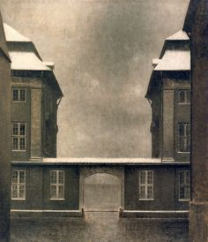 Vilhelm Hammershøi - The Buildings of the Asiatic Company, seen from St. Anne Street