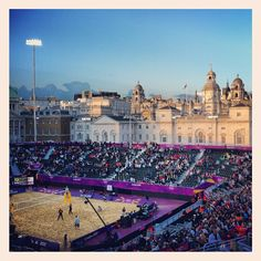 ojmiles's photo  of London 2012 venue - Horse Guards Parade on Instagram
