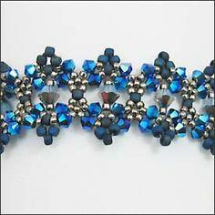 free seed bead bracelet patterns | Mabeline Gidez: Sedona Bracelet Pattern