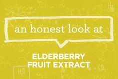 What Is Elderberry Fruit Extract? | via The Honest Company Blog