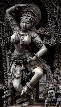 Flora's secret — emily-ana-watch-the-stars: Natya sundari Ancient Indian Art, Ancient Art, Asian Sculptures, Hindu Statues, Indian Art Paintings, Abstract Paintings, Oil Paintings, India Art, Krishna Art