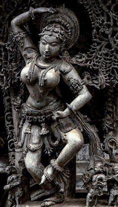 Flora's secret — emily-ana-watch-the-stars: Natya sundari Ancient Indian Art, Ancient Art, Indian Architecture, Ancient Architecture, Hindu Statues, Arte Tribal, Tribal Art, Indian Art Paintings, Abstract Paintings