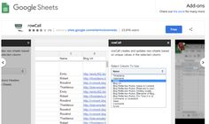rowCall Google Add On will allow you to take information in a Google Sheets column and turn it into its own sheet