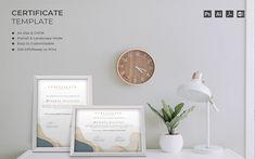 Melania - Certificate Template