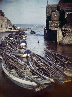 The Autochrome process required long exposure times, creating soft and hazy images.